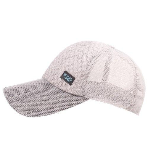Adjustable Size Men's Mesh Caps New Summer Ultra-thin Breathable Baseball Cap Snapback Hat Bone Women's Black Sports Hat