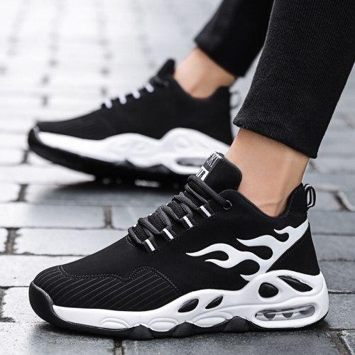 Casual Shoes Men Fashion Sneakers Air Cushion Height Increase Shoes Platform Shoes for Man High Top Sneaker Zapatillas De Hombre