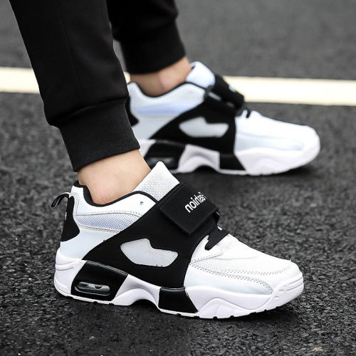 Summer Mesh Breathable Men's Casual Sneaker Shoes Fashion High Quality Mens Platform Casual Shoes Solid Flats