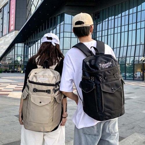 Multi Purpose Large Capacity Men'S Backpack College Students Schoolbag Trendy Travel Outdoor Backpack For Women Men