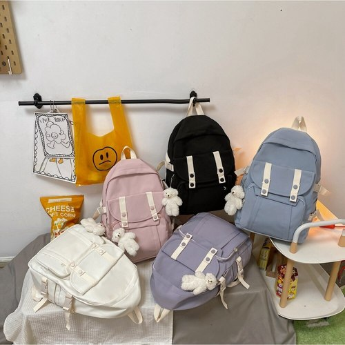 Women's Backpack Cute Student School Bag Large Capacity Travel Bag for Teenage Girls Casual  waterproof Book Bag
