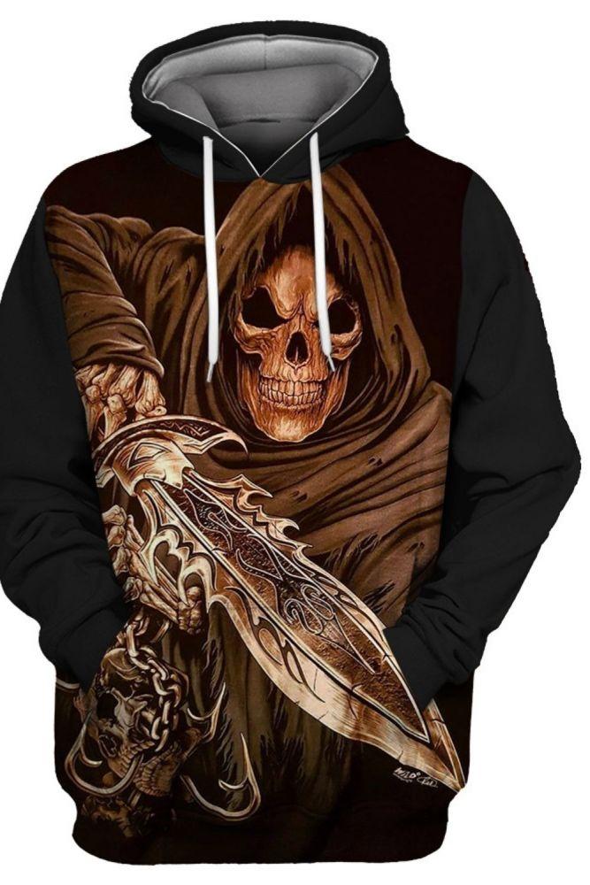 New Mens Hoodies Strange things Printing 3D Halloween Harajuku Loose Sweatshirts S To 3xL