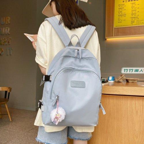 Casual Nylon Backpack Women Waterproof Backpacks School Bags For Teenage Girls Japanese Style Mochila Feminina Student Book Bag