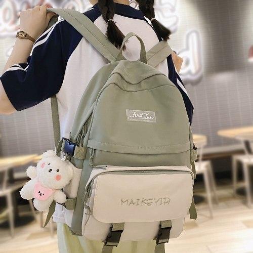 Women Cute Travel teenager School Bag Fashion Lady Kawaii Book Backpack Female Laptop Student Bag Girl Harajuku College Backpack