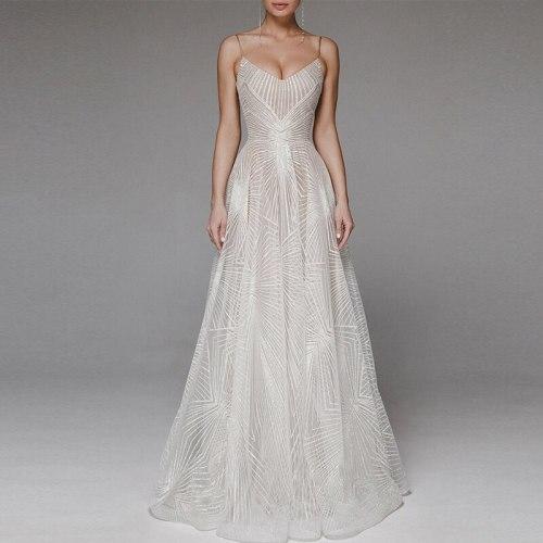 Dresses Embroidery Backless Elegant Dress Wedding Evening Dresses Dance Queen Dress Return to Home Dresses Graduation
