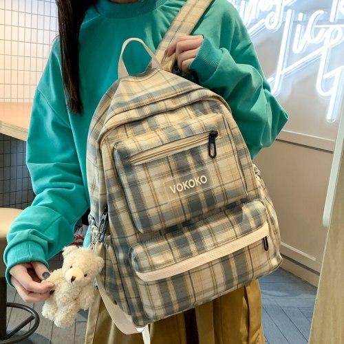 New Women's Travel Backpack High Quality Canvas School Bag for Teenage Girls Boys Student Book Laptop Rucksack Mochila Schoolbag