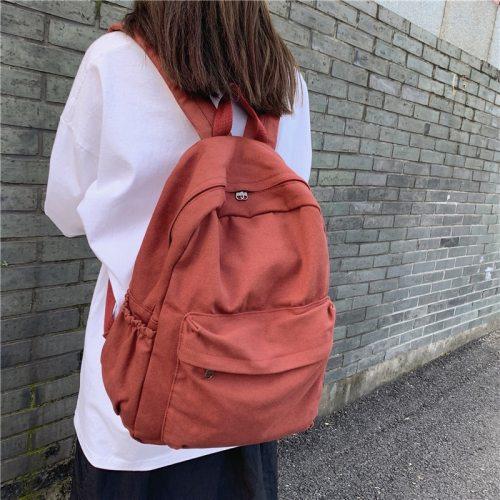 Women Backpack Waterproof Nylon For Teenage Girls Schoolbag Shoulder Fashion Men Black Bagpack Travel Bag Rucksack