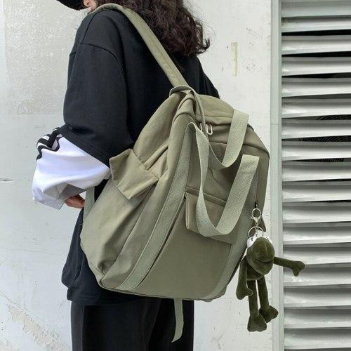 2021 Women Backpack Waterproof Nylon Simple School Bag For Teenager Travel Bag Designer Backpack