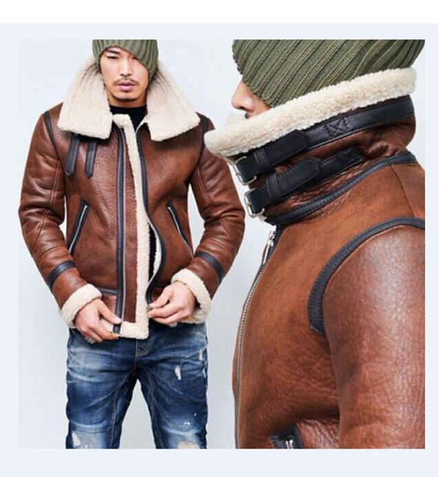 2021 Men's Lapel Solid Color Zip Jacket