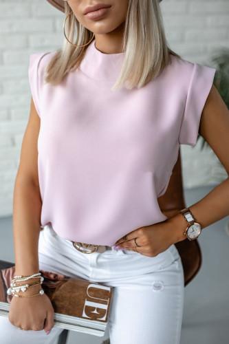 Daisy Pineapple Print Ruffle Blouse Shirts Office Lady 2021 Summer Short Sleeve Slim Blouses women Sexy Tops