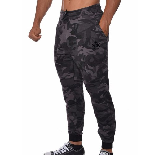 2021 Cotton Joggers Pants Men Running Sweatpants Skinny Track Gym Fitness Training Trousers Male Bodybuilding Workout Bottoms