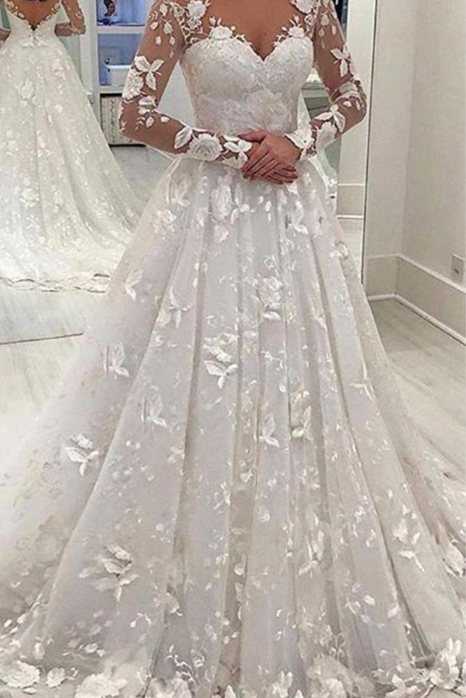 Party Dress Women Sexy Deep V Lace Stitching Long Sleeve High Waist Solid Floor-Length Womens Maxi Dress
