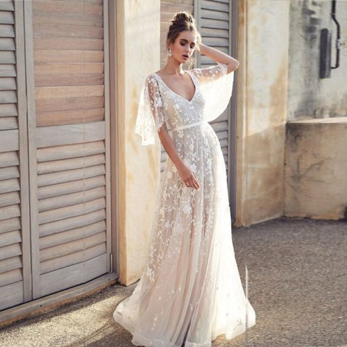 2021 Party Dress Sleeveless Princess Ball Gown Wedding Dress Sexy Applique Beaded Flowers Chapel Train Satin Vintage Bridal Gown