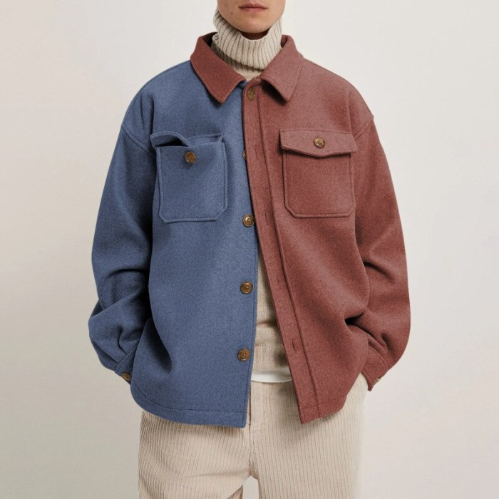 Men Jacket 2021 Spring Autumn New European American Men's Clothing Casual Fashion Loose Youth Trend Top Casual Jacket