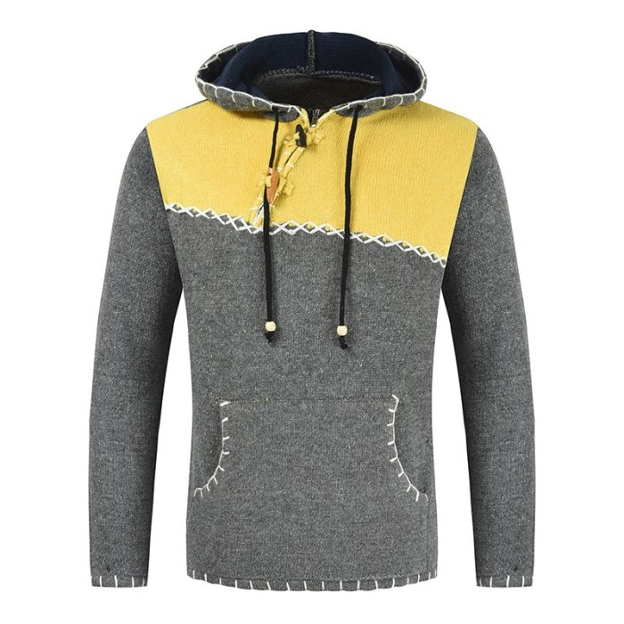 2021 New Sweaters Men'S Black Striped Long Sleeves Autumn Winter Pullover Knitted O-Neck Plus OverSize 5XL