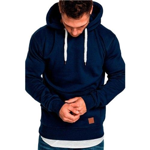 New Men's Sweatshirt Long-Sleeved Autumn And Spring Casual Slim Hoodie Top Boy Shirt Sportswear Sweatshirt Hoodie Men's