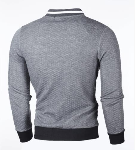 2021 Brand New Men's Plaid Sweatshirts Zipper Men Sweatshirts Stand Collar for Male Casual Man Zipper Sweatshirt Clothing