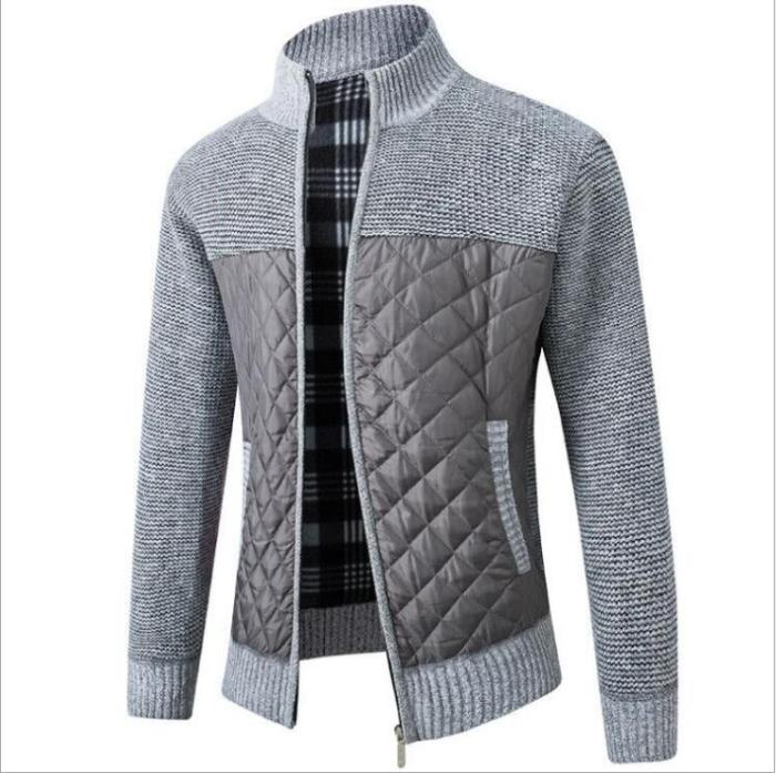 Men's Sweaters 2021 Spring Autumn Winter Warm Knitted Sweater Jackets Cardigan Coats Male Clothing Casual Knitwear