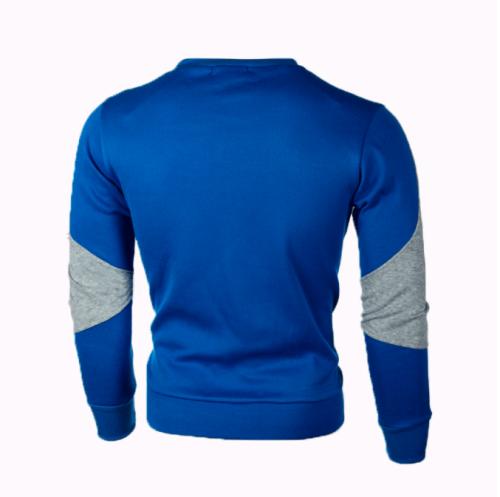 2021 Men's Sweatshirt Casual Fashion Hoodies Men Slim Fit Pullover Male Long Sleeve Streetwear Patchwork Quality Sweatshirts Men