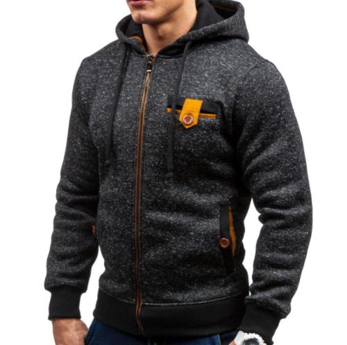 Men Sports Casual Wear Zipper COPINE Fashion Jacquard Hoodies Fleece Jacket Fall Sweatshirts Autumn Winter Coat MWW181