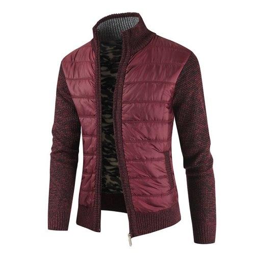 New 2021 Men's Winter Warm Sweaters Cashmere Wool Zipper Cardigan Sweaters Male Casual Knitwear Sweatercoat Male Jacket Clothes