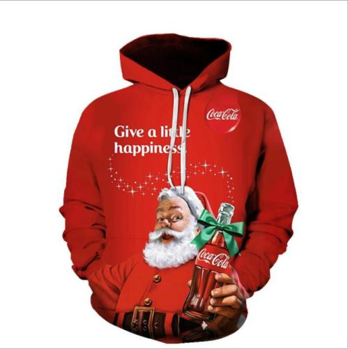 Christmas Sweater snowman For gift Santa reindeer Pullover Womens Mens 3D Jerseys and Sweaters Tops Autumn Winter Clothing