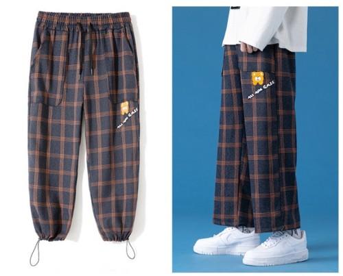 Vintage imitation casual mens pants
