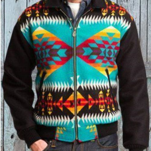 Loose Sweatshirts Men Lapel Zipper Large Size Print Top Men's Casual Long Sleeve Spring Autumn Thin Street Sweatshirt