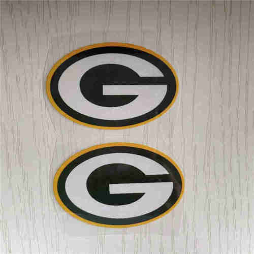 Green Bay Packers heat transfers shoe decals ready to press vinyls iron on patches custom DIY nike air force 1 birthday present best gifts