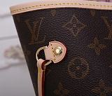 Knoc koff hot LOUIS VUITTON Monogram Canvas Neverfull MM 40996 Pink