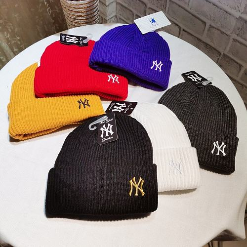 MLB BRAND KNITTED HAT WITH SIX COLORS MLB BRAND
