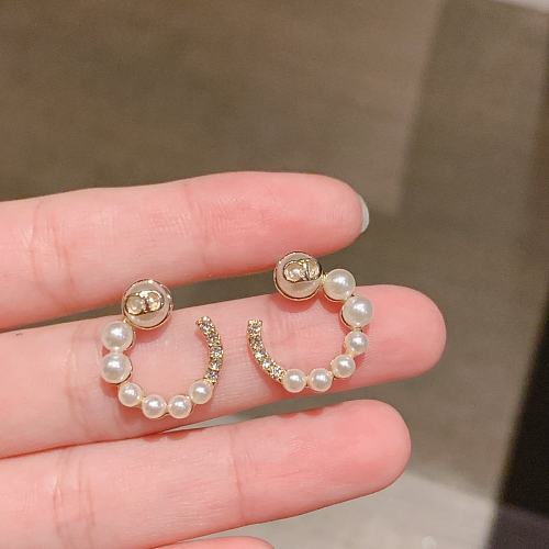 DIOR EARRINGS WITH GIFT BOX 101630