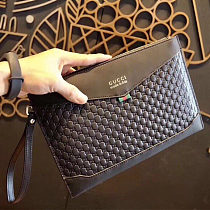Multiple Wallets GUCCI Leather Hand Bag 9034-5