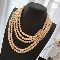 CHANEL NECKLACE WITH GIFT BOX 101617