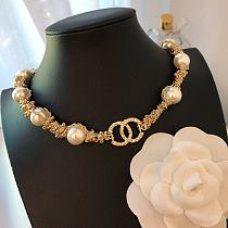CHANEL NECKLACE WITH GIFT BOX 101620
