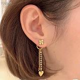 DIOR EARRINGS WITH GIFT BOX 101629