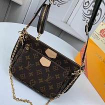 Multiple Wallets LOUIS VUITTON M44823 LV MONOGRAM CANVAS FAVORITE THREE-PIECE HANDBAGS