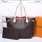 Louis Vuitton Knock Off Monogram Canvas Neverfull MM 40996 Fuchsia