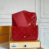 Highest Replica fake LOUIS VUITTON M61276 Patent Leather BAG 100733