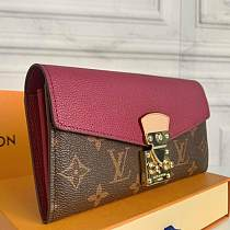 Louis Vuitton M58414 Pallas Wallet Monogram Canvas 101593