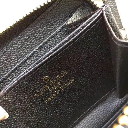 Louis Vuitton M60067 LV ZIPPY COIN PURSE BLACK 101036