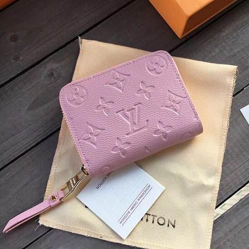 Louis Vuitton M60067 LV ZIPPY COIN PURSE PINK 100929