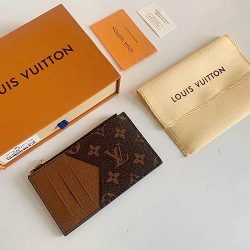 Louis Vuitton M64038 LV Coin Card Holder 101589