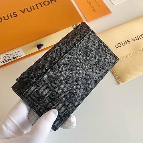 Louis Vuitton M64038 LV Coin Card Holder 101584