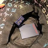 LOUIS VUITTON FISHERMAN HATS BLACK  WHITE KKJS019