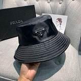 PRADA FISHERMAN  HATS BLACK PINK KKW8023