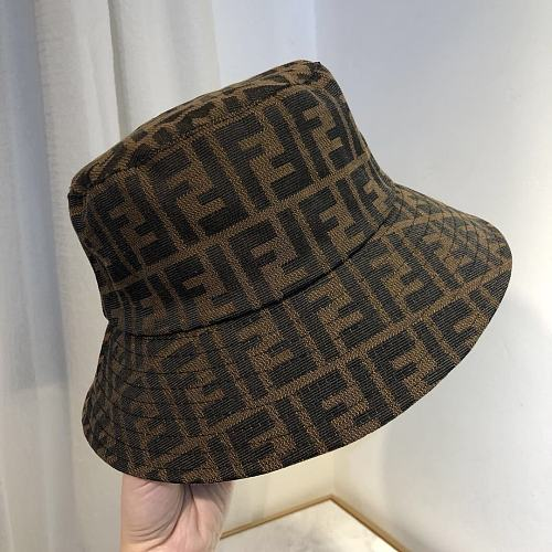 FENDI FISHERMAN  HATS BROWN 23S9019
