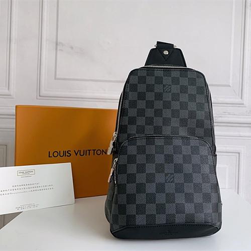Louis Vuitton N41720 Avenue Sling Bag Damier Infini Leather