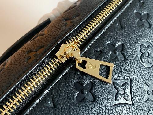 Louis Vuitton M44812 Monogram Empreinte Leather Bumbag Handbag Black