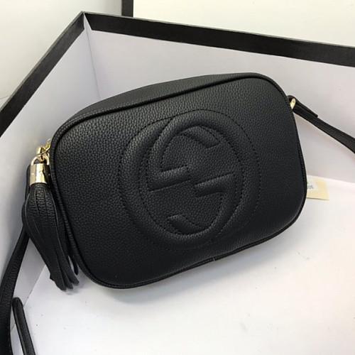 Gucci 308364 Soho small leather disco bag